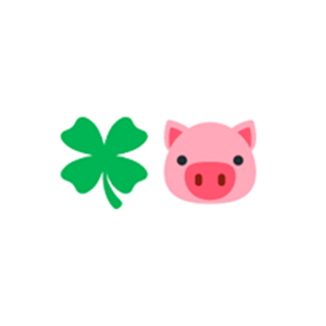 the lucky pig icon